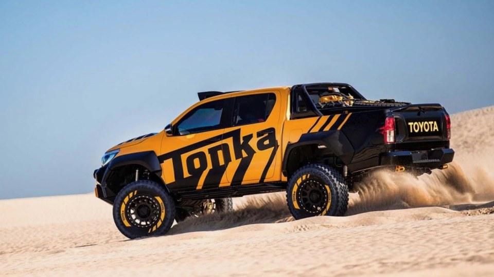 Locally developed Toyota HiLux Tonka