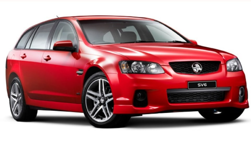 Holden Commodore SV6 Sportwagon Series II