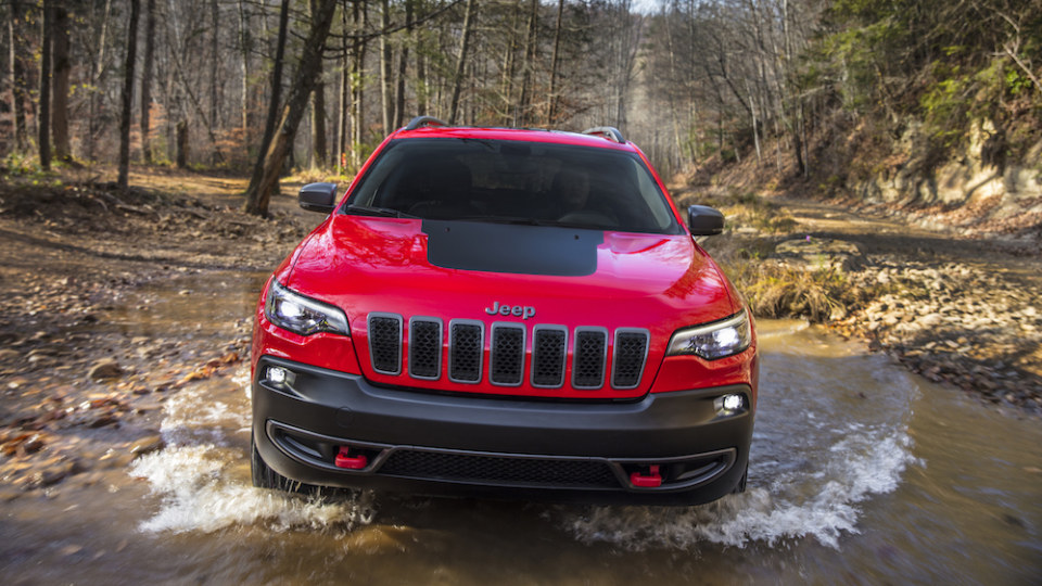 2018 Jeep Cherokee Overseas Preview Drive