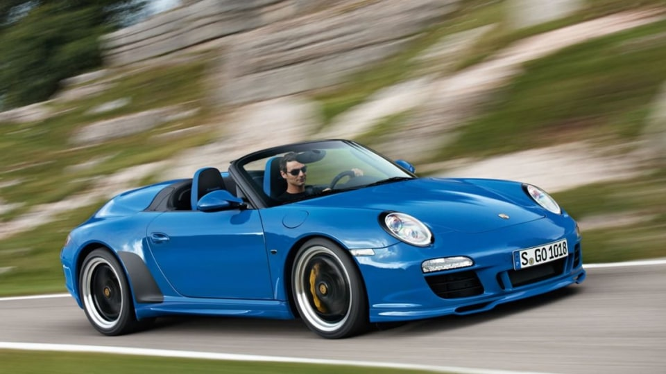 2010 Porsche 911 997 Speedster.