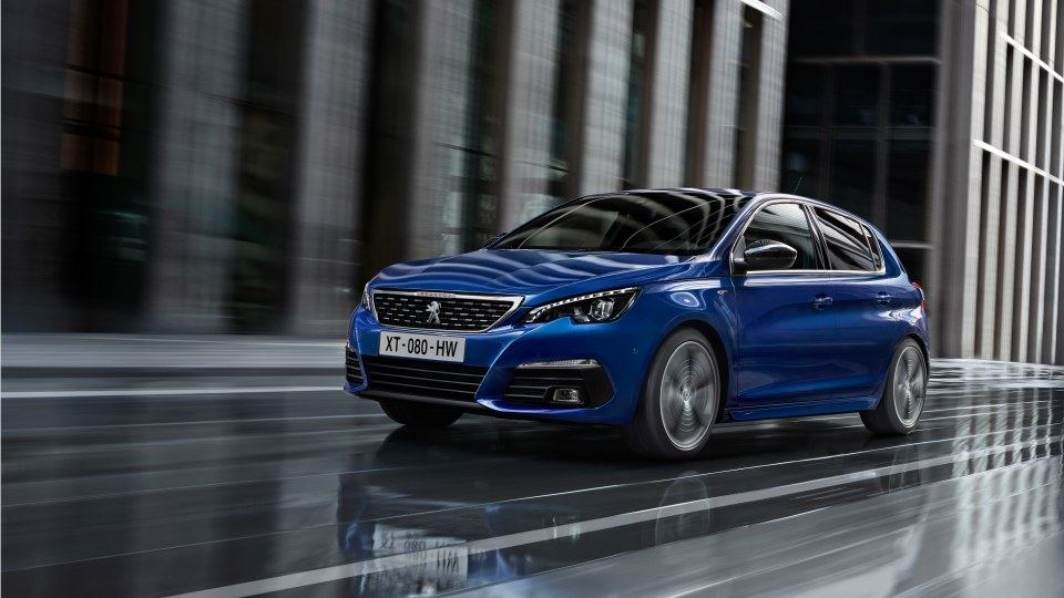 Peugeot extends AEB safety across its range