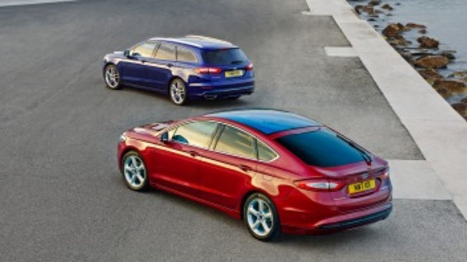 The Mondeo is available as a hatchback or wagon.