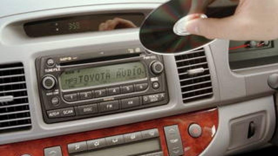 Car CD players in decline