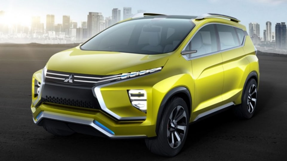 Mitsubishi has unveiled its vision for a people mover of the future.