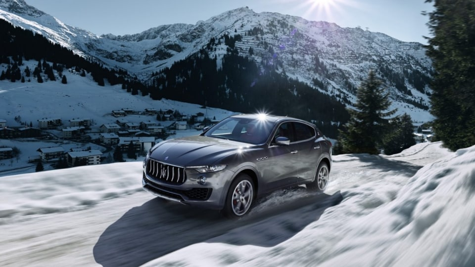 Maserati has revealed its Levante, the Italian brand's first SUV.