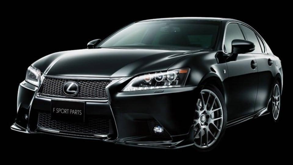 TRD Tweaks Styling, Handling For New Lexus GS F Sport