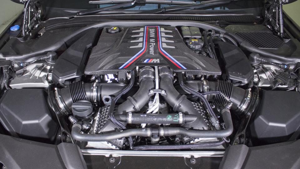 Head-to-head: BMW M5.