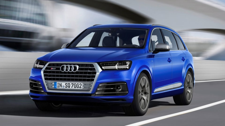 Audi SQ7 REVIEW – First Drive Of 2017 Diesel Performance SUV