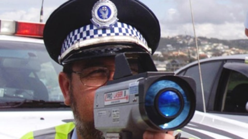 Police showdown over speed ticket