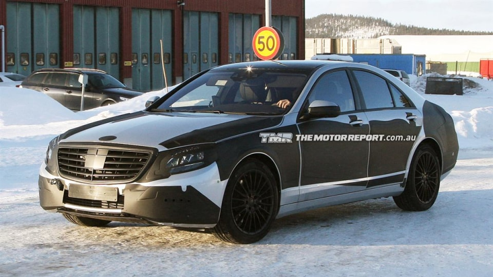 2013 Mercedes-Benz S-Class Revealed Further In New Spy Photos