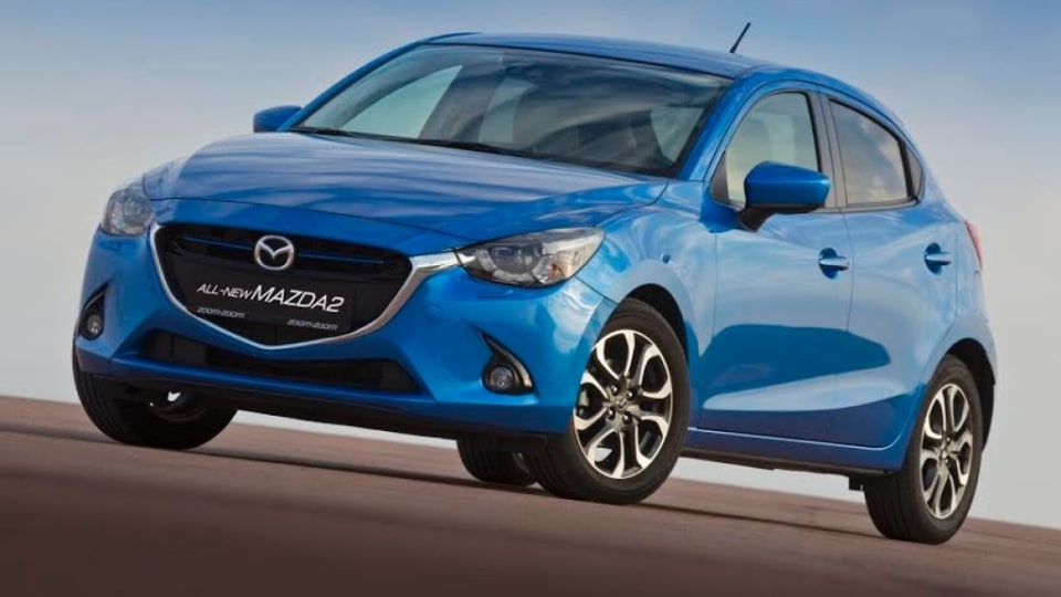 The Mazda2 is on sale.
