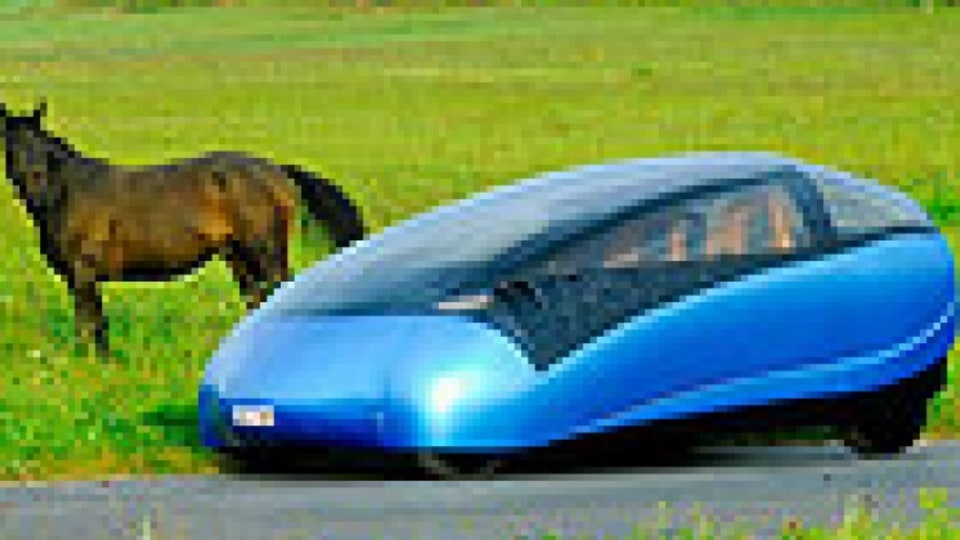 Pedal powered hybrid car