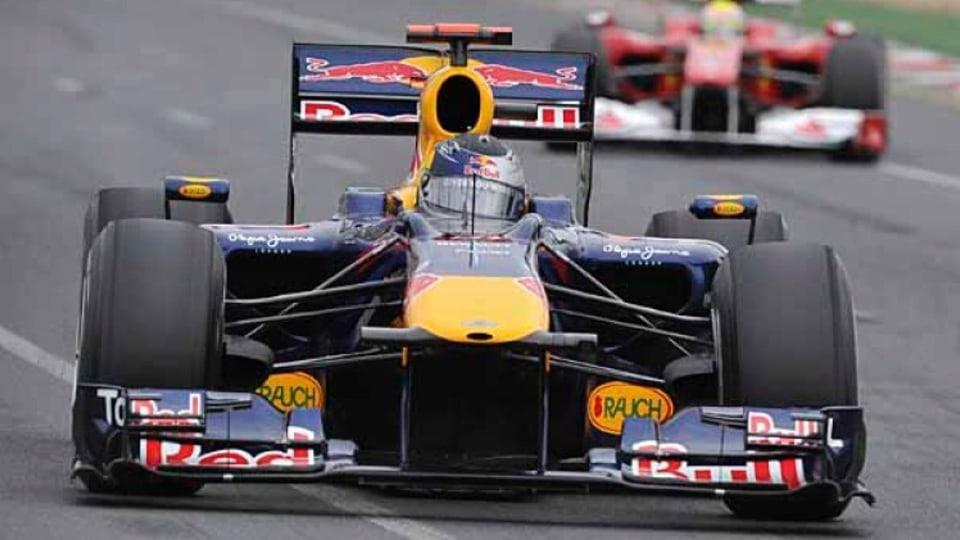 Qualifying session for Sebastian Vettel.