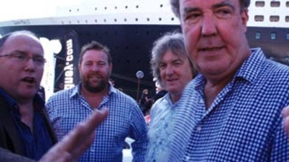Jeremy Clarkson gagged in Sydney
