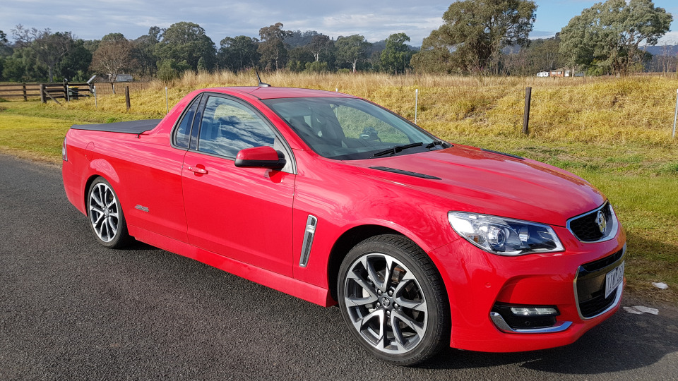 Holden Commodore SS ute Short Haul review