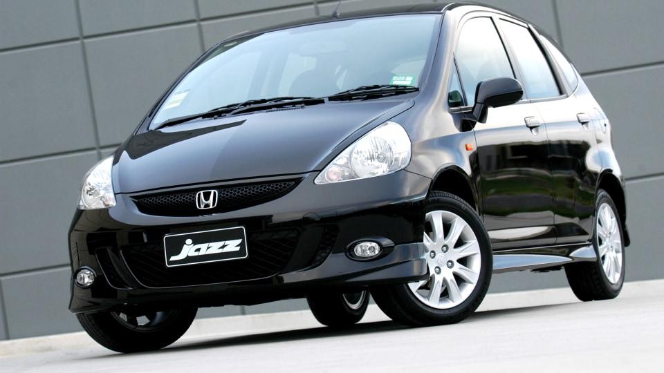 2005 Honda Jazz.