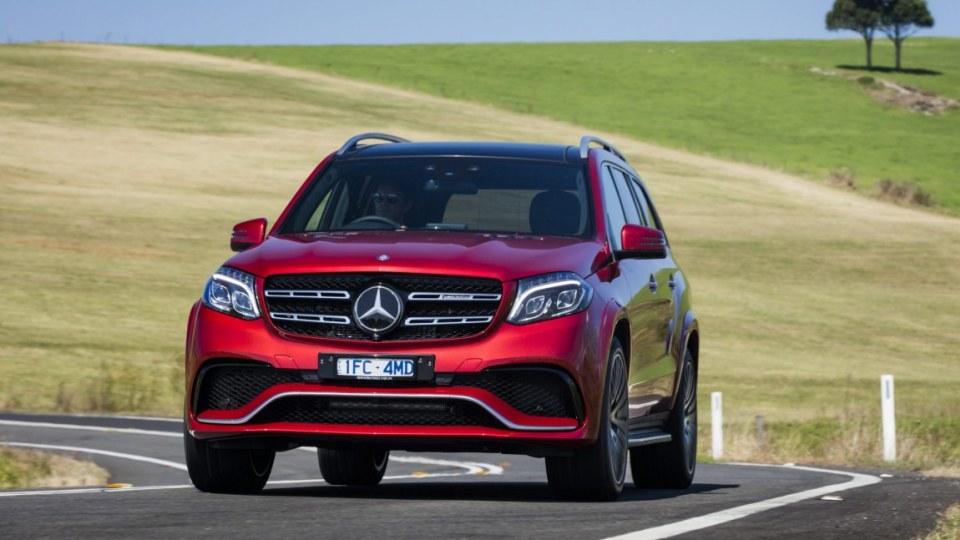Mercedes-AMG GLS63.