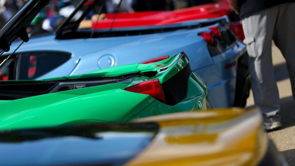 There was more than just red Ferraris on display at AutoItalia in Canberra