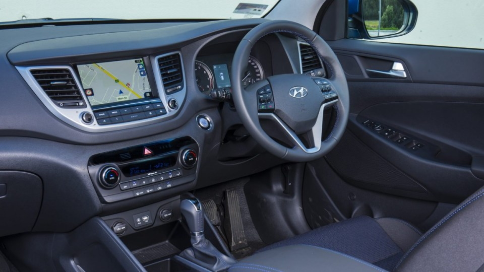 Hyundai Tucson - which replaces the ix35 - has a classy interior.