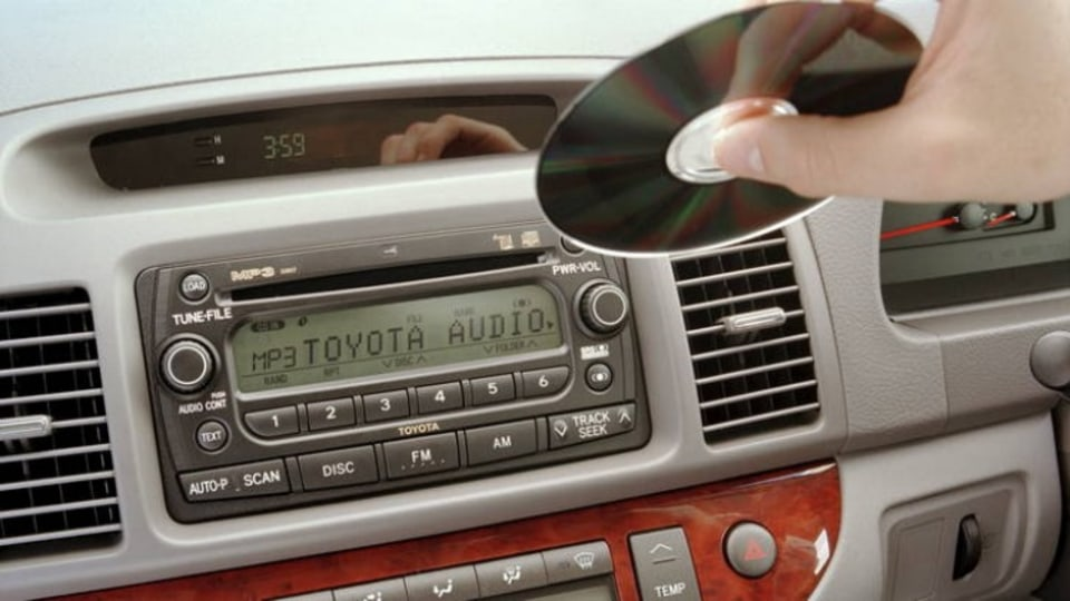 In-car CD players are on the way out.