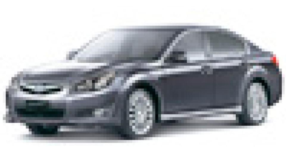 MY10 Liberty 2.5i Sport sedan front studio.