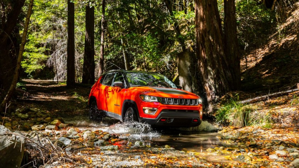2017 Jeep Compass Trailhawk.