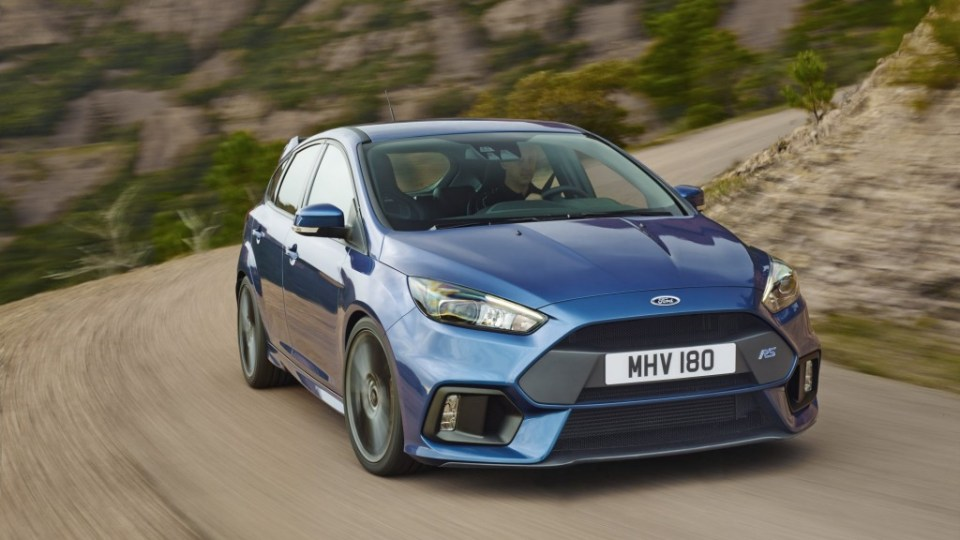 The new Ford Focus RS has been unveiled to the public at the 2015 Geneva motor show.