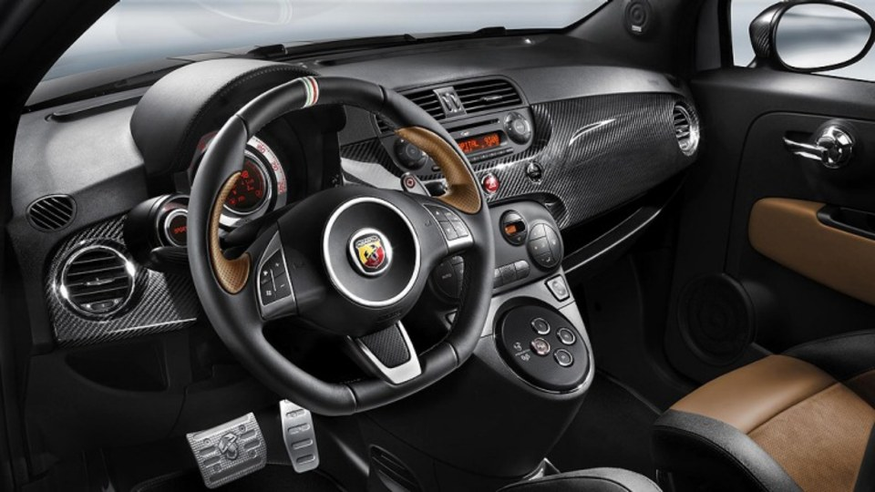 The Abarth 695 Tributo Ferrari.