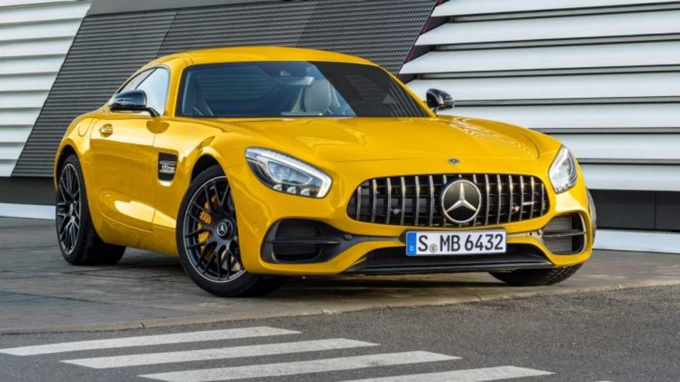 Mercedes-AMG GT 4 set for Geneva motor show reveal