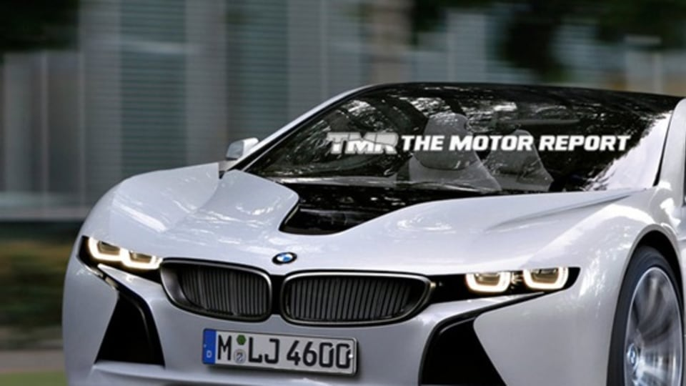 BMW Vision EfficientDynamics-Inspired Sports Car Previewed