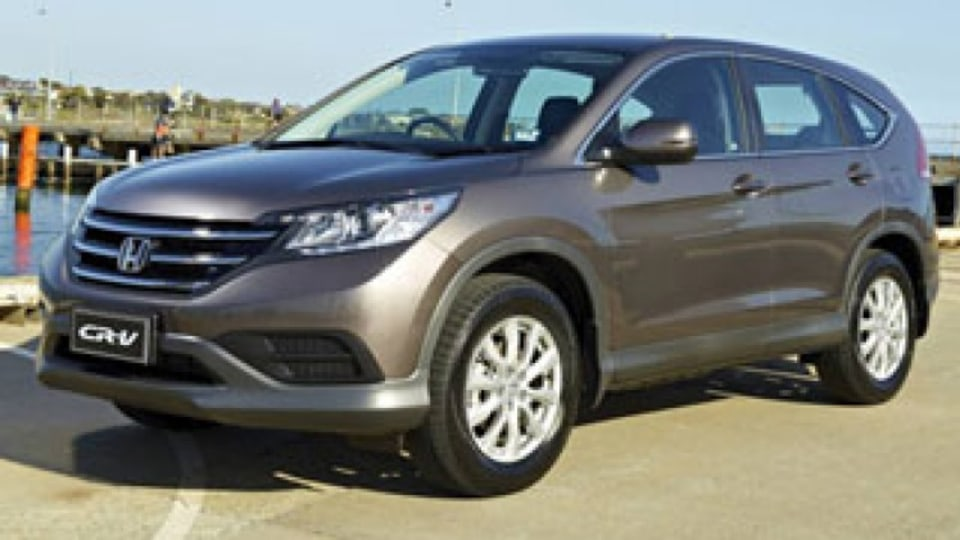 The Honda CR-V is a more than capable SUV for a growing family.