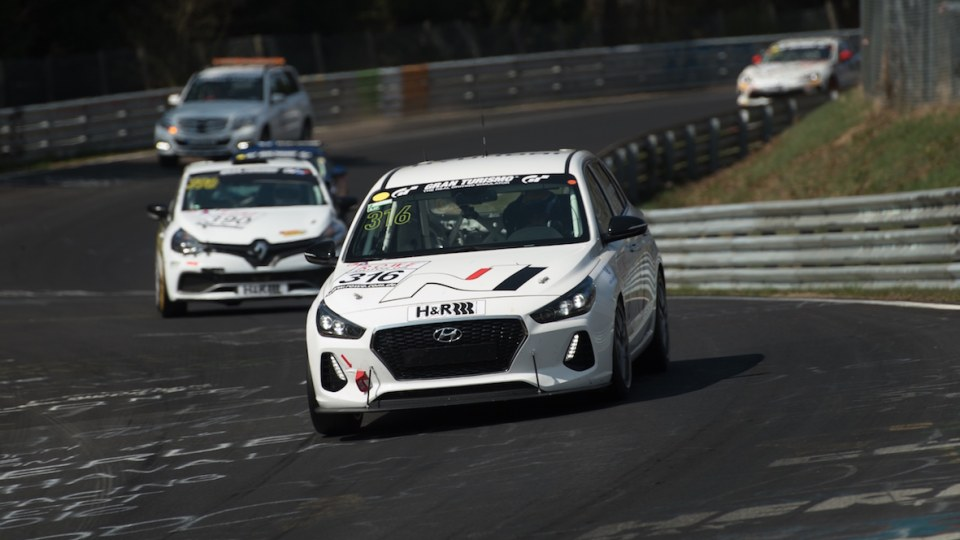 Hyundai i30 N Hot Hatch Put To The Test In Nurburgring Race