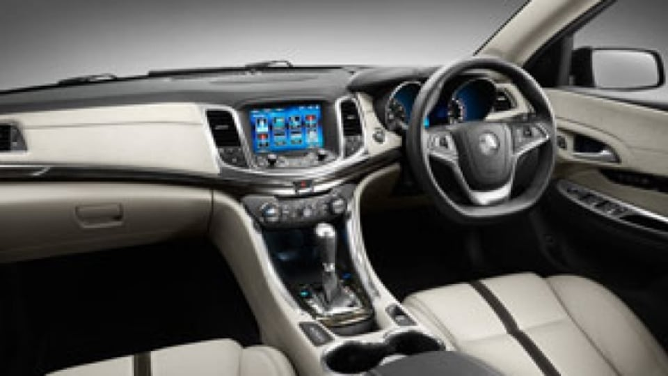 Holden VF Commodore: High-tech pitch