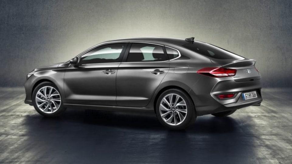 2018 Hyundai i30 Fastback.