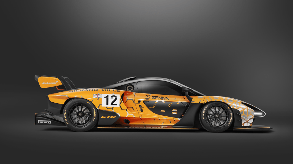 2018 McLaren Senna GTR