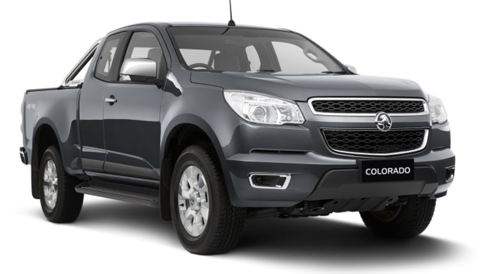 Workhorse: the Colorado space cab offers a 3500kg towing capacity and an 1169kg payload.