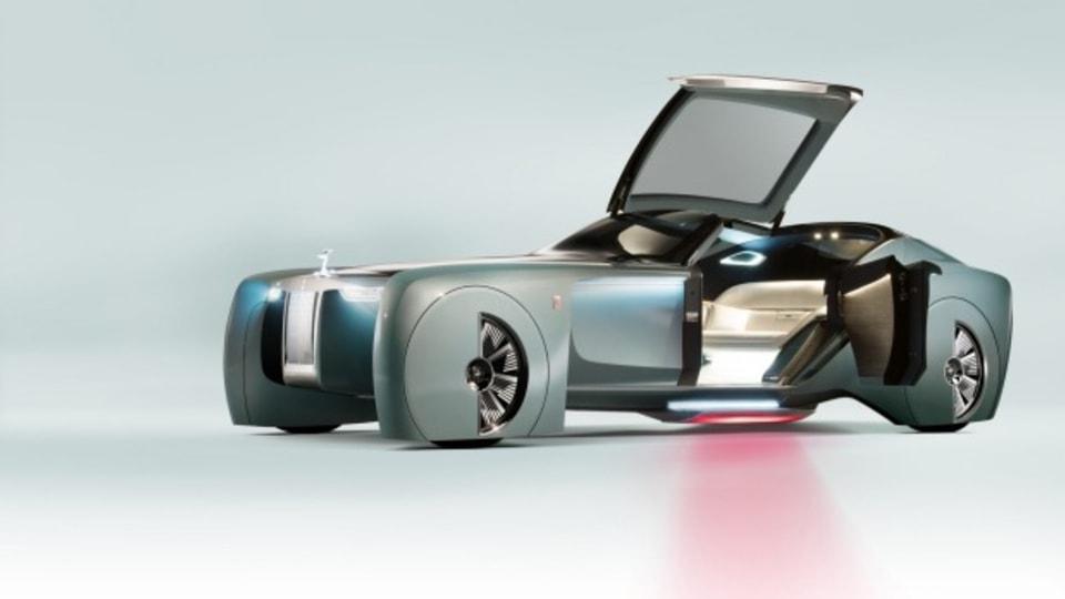 Rolls-Royce 100 concept.