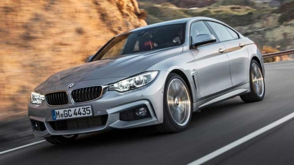 BMW 4-Series Gran Coupe.
