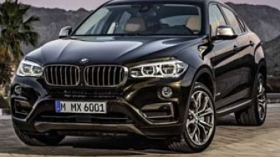 BMW unveils updated X6