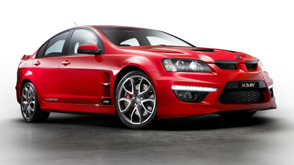 HSV Celebrating 20 Years Of ClubSport With Limited Edition Model