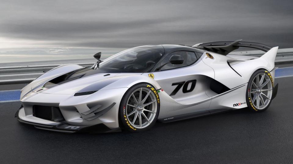 Ferrari reveals FXX K Evo