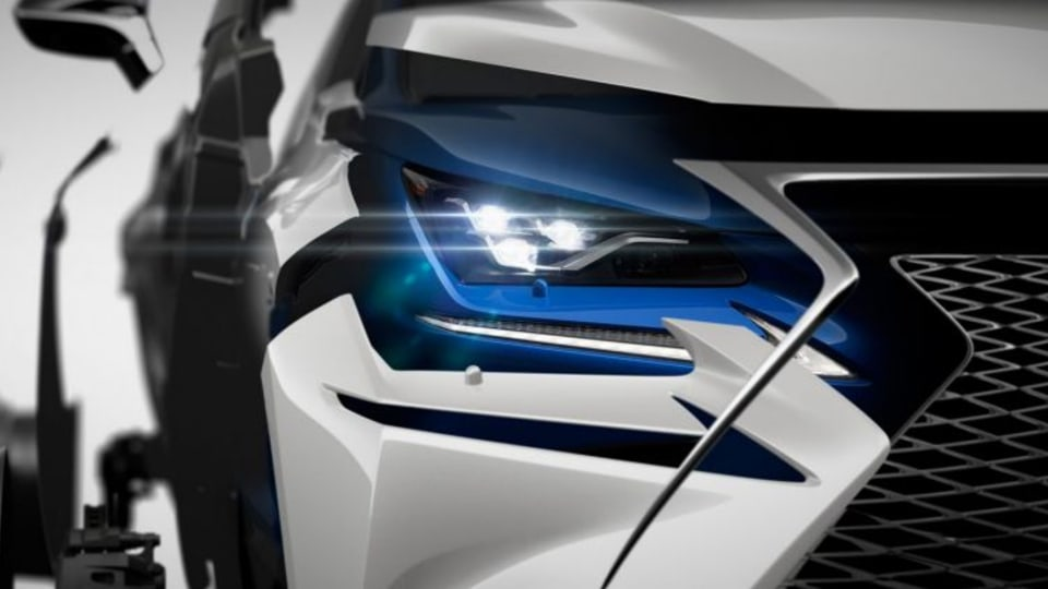 The new Lexus NX is set to be revealed at the Shanghai motor show in April.