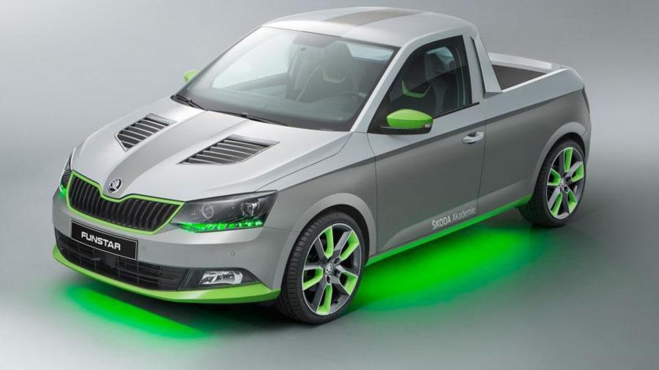 Skoda Fabia Pickup Concept Unveiled For Worthersee Treffen