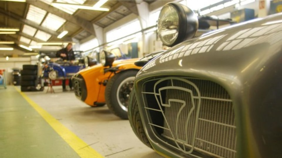 Caterham Bumps Up Production Due To Increased Demand