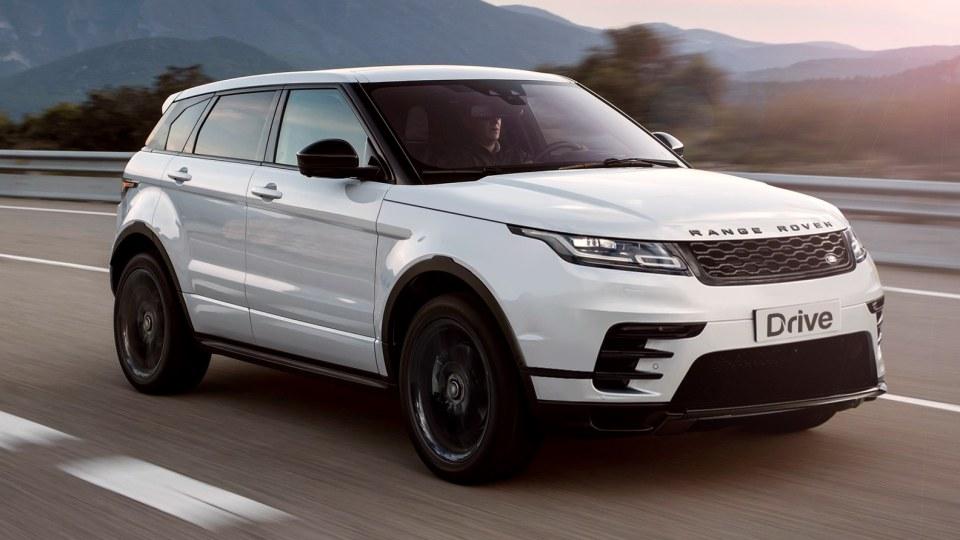 2019 Range Rover Evoque rendering