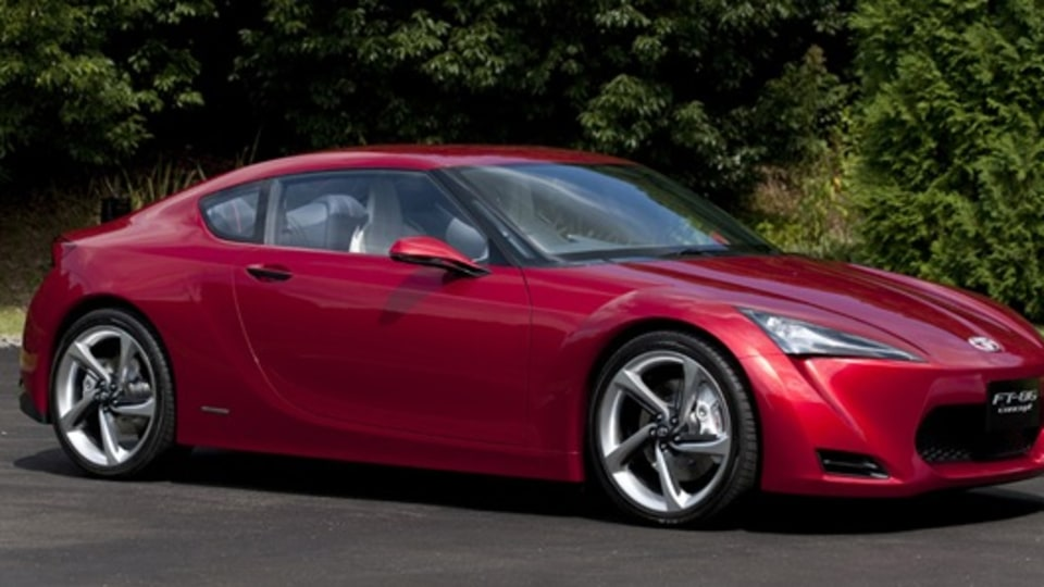 Toyota FT-86 Concept Previews Upcoming Entry-Level RWD Sportscar: Tokyo Motor Show