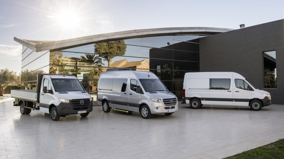 2018 Mercedes-Benz Sprinter Revealed Overseas