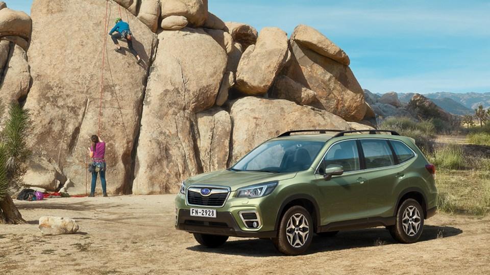 Subaru: Sales a Little Sad