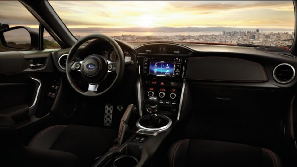 Interior upgrades include a driver's information display.