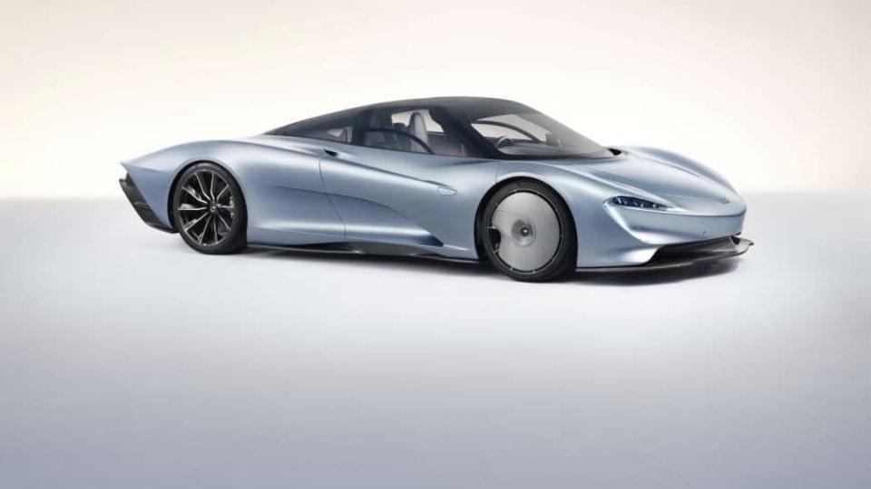 McLaren Speedtail leaks ahead of world debut
